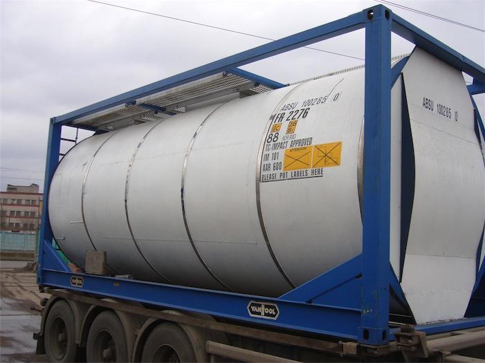 "Перевозка наливных грузов. Цистерна компании ""ТемпТранс"""