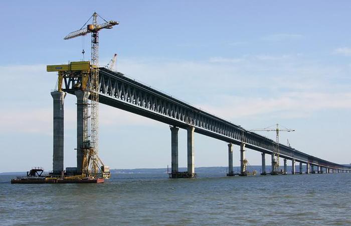 Строительства главного моста страны